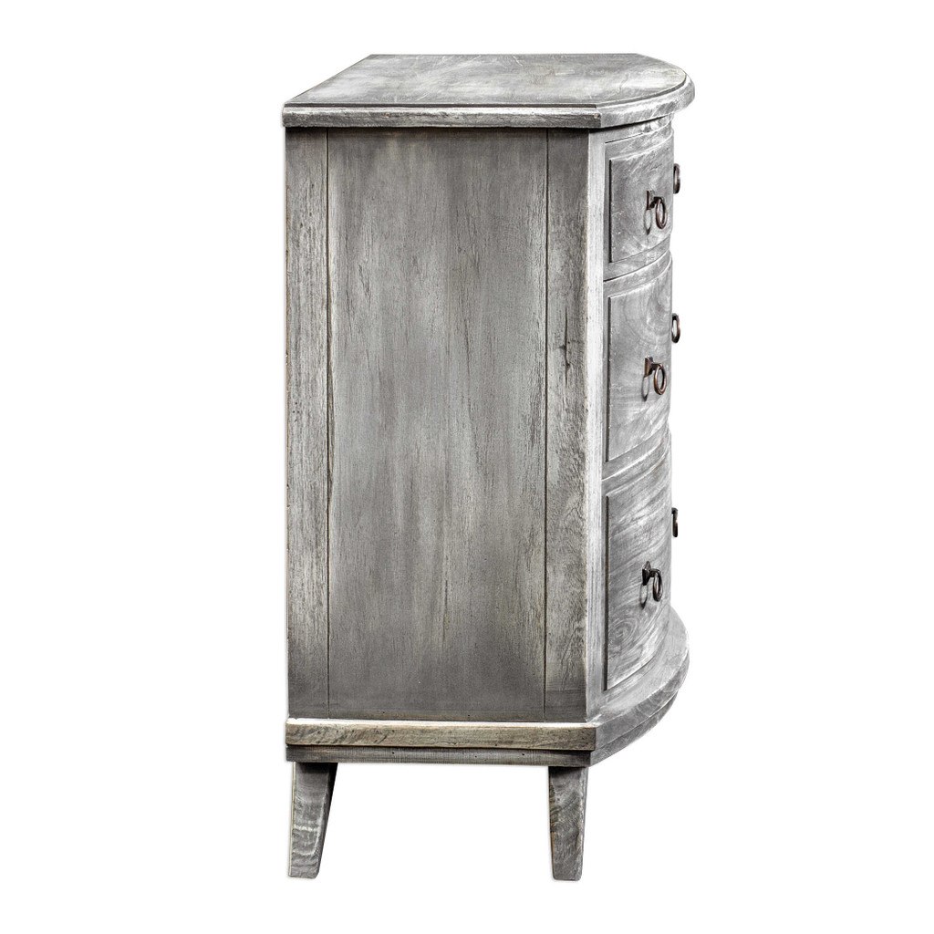 Jacoby Driftwood Accent Chest side view
