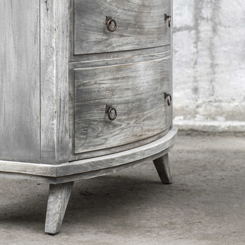 Jacoby Driftwood Accent Chest bottom