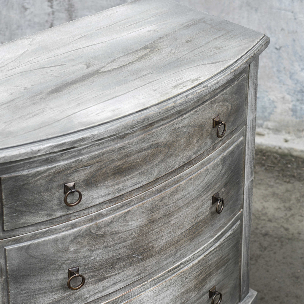 Jacoby Driftwood Accent Chest close up top