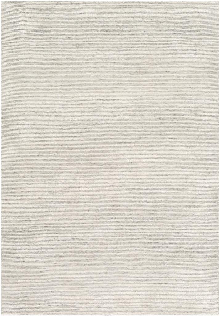 Silver Strada Wool and Viscose Rug