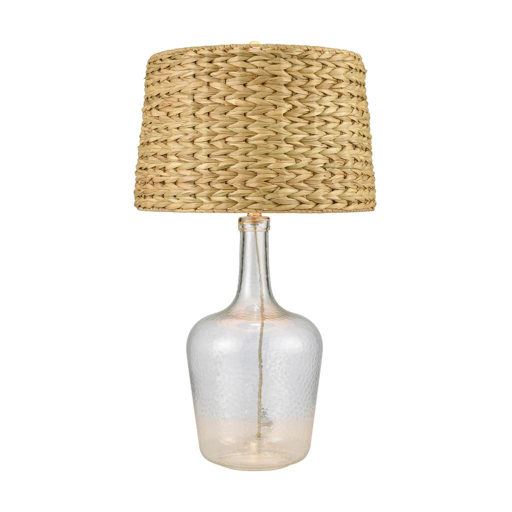 Downpour Glass Table Lamp