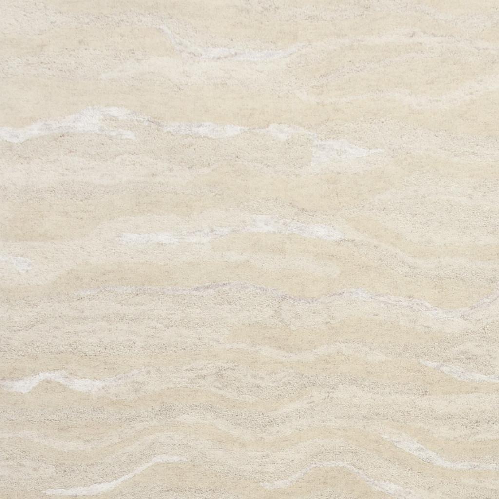 Serenity Summer Breeze Luxury Wool Rug close up 2