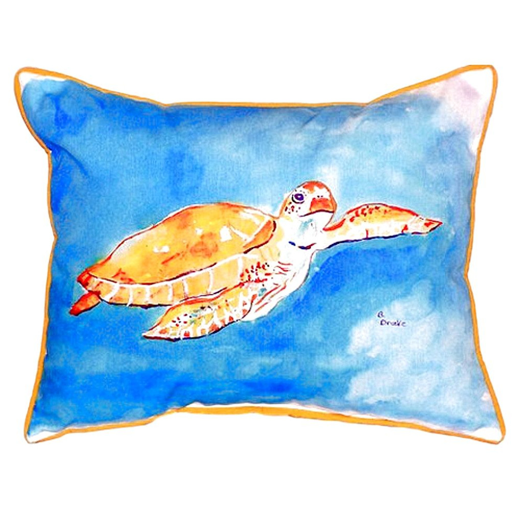 Under the Sea Turtle Pillow