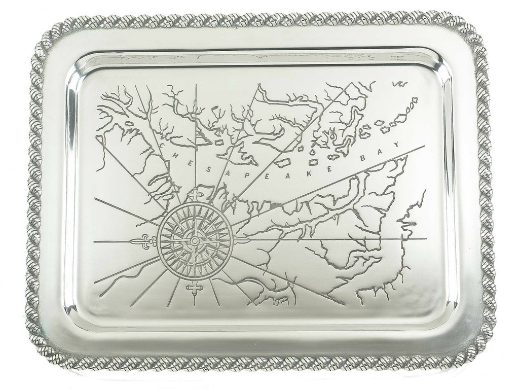 Latitudes Chesapeake Bay Serving Tray