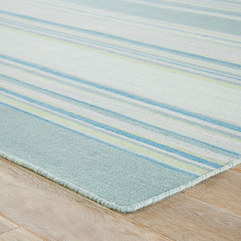Kiawah Island Striped Wool Rug