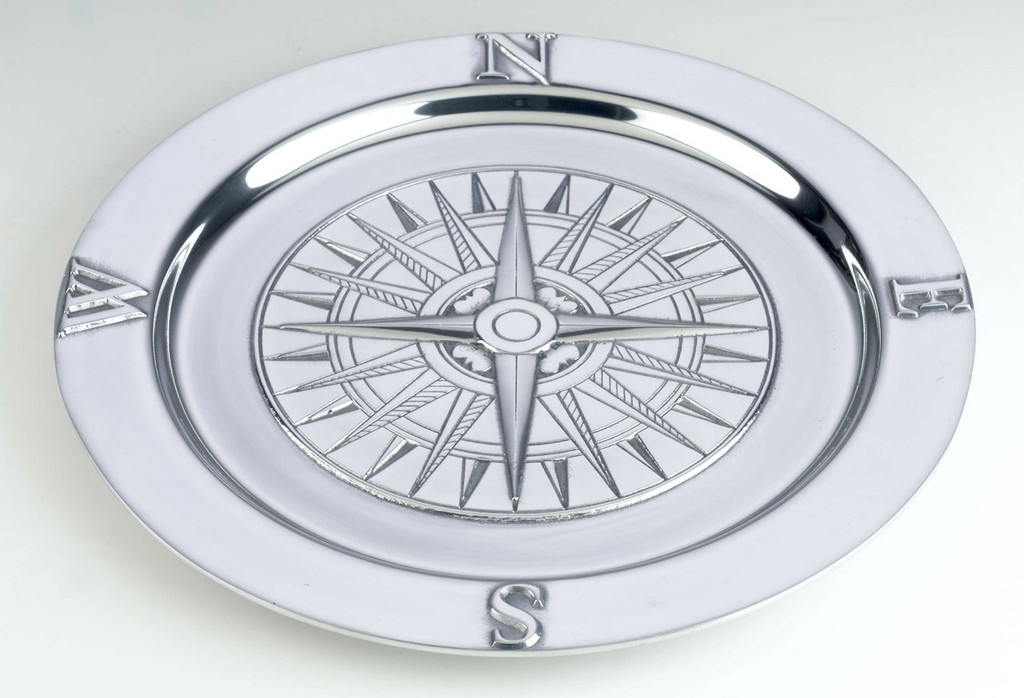 Voyages Round Serving Tray