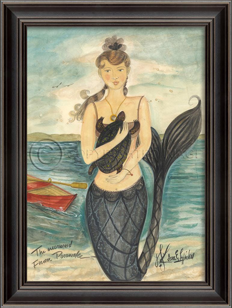 Mermaid from Pocomoke Mermaid Art