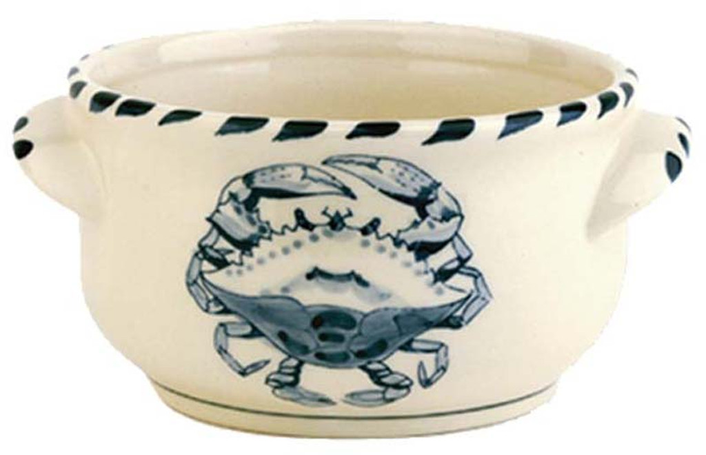 Blue Crab Chowder Bowls - set of 4