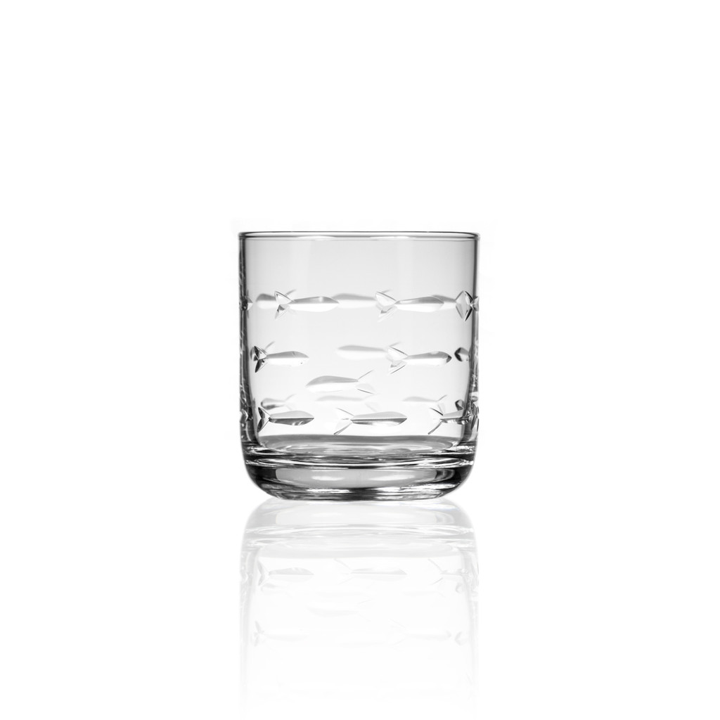 School of Fish Old Fashioned Tumbler single image