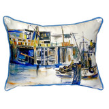 Fishing Boat Pillow