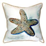 Whimsical Starfish Pillow