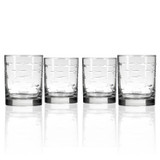 School of Fish DOF Glassware - Set of 4 group shot