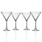 School of Fish Martini Glassware - Set of 4 group shot