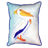 King Pelican Beach Cottage Pillow
