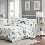 Beach House Blues Comforter Set - Full Size