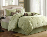 Bermuda Leaf Comforter Set - Queen Size