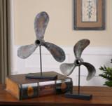 Rustic Boat Propeller Sculptures