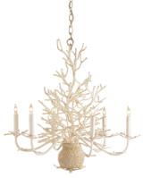 Seaward White Coral Branch Chandelier