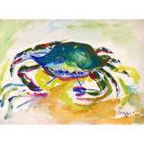 Green Crab image Floor Mat