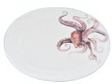 Octopus Large Oval Platter