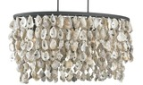 Stillwater Oyster Shell Chandelier