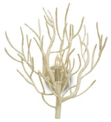 Eventide White Coral Wall Sconce