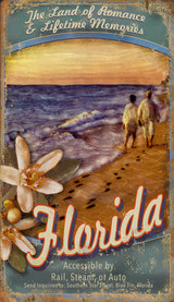 Visit Florida Art Sign