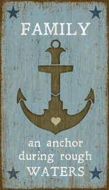 Anchor Custom Art Sign