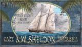 Trade Winds Sailing Art Sign