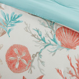 Pebble Beach duvet Set - close up