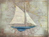 Sloop 2 Nautical Art