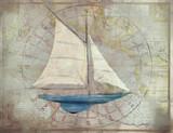 Sloop 2 Nautical Wall Art