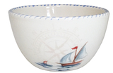 Sailboat Chowder-Soup Bowls Set of 6