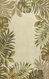 Paradise Border Luxury Wool Rug