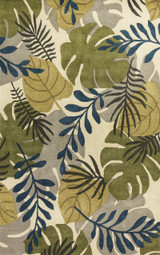 Ivory Tropical Breeze Rug