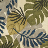 Ivory Tropical Breeze Rug close up 2