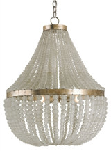 Chanteuse Beaded Frosted Chandelier