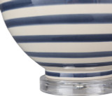 Blue Striped Tideline Lamp base