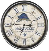 Blue Sailfish Custom Clock