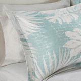 Sea Palm Grove Comforter Set - King Size close up