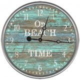 On Beach Time Clock - Custom