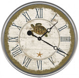 Beach Cottage Sea Turtle Clock - Custom