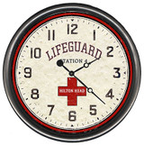 Beach Lifeguard Custom Clock
