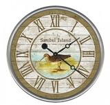 Sandpiper Beach House Custom Clock
