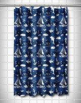 Deep Blue Sea Mix Shower Curtain