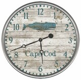 Blue Whale Custom Beach Clock