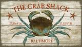 The Crab Shack Beach House Sign - Custom
