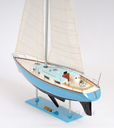 Bristol 35.5 Sailing Model side detail