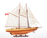 Blue Nose II Sailboat Model - Fully Assembled
