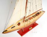 Shamrock Mid Sailboat Model view 3